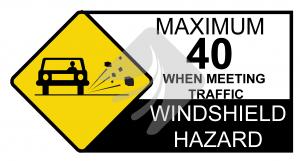 Wind-shield Hazard