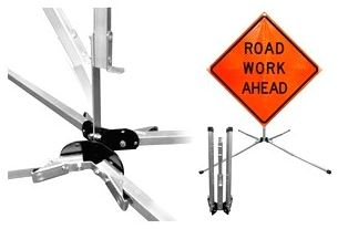 Rigid Highway Sign Stands